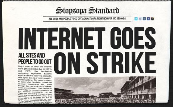 Strike Newspaper